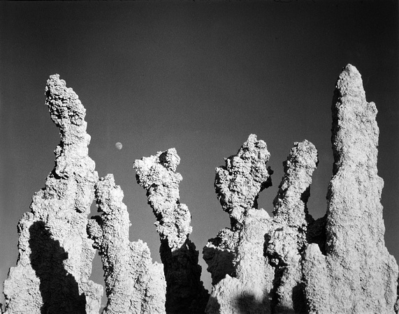 Moonrise Over Tufa